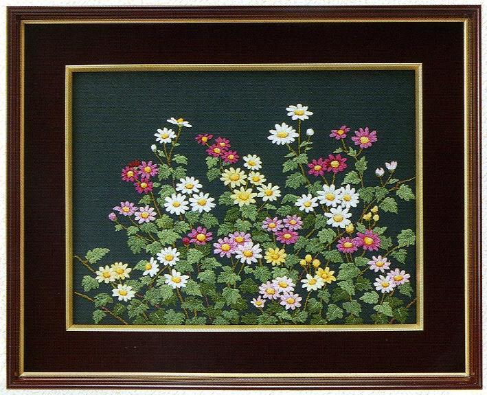 東京文化刺繍キット80「野菊」(3号)