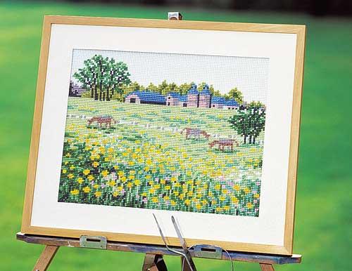 Olympus刺繍キット851「牧場」