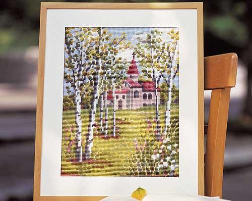 Olympus刺繍キット852「教会」