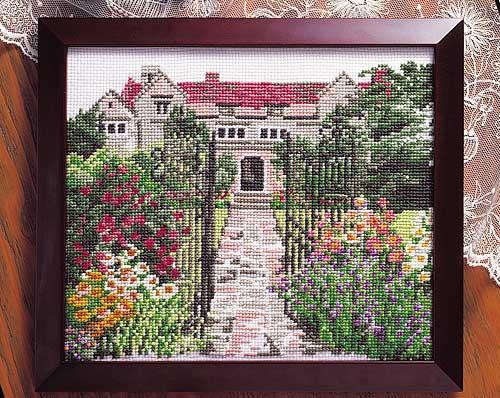 Olympus刺繍キット884「英国庭園」