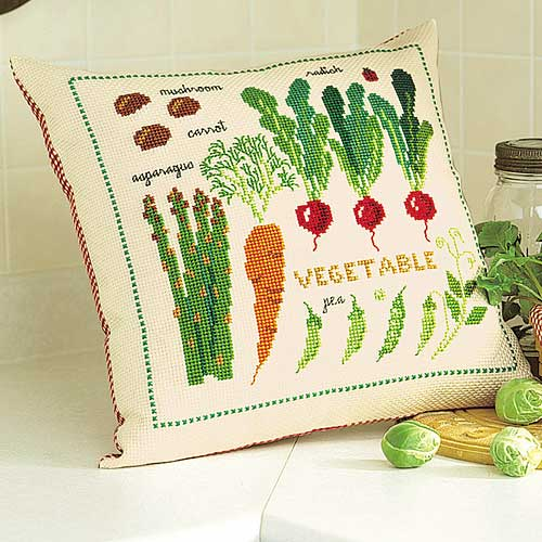 Olympusクロス刺繍キット5970「サラダ・ガーデン」
