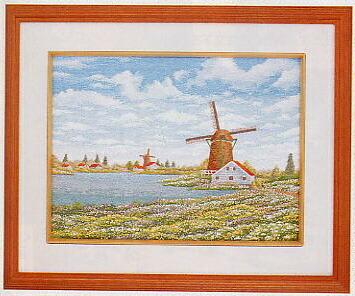 東京文化刺繍キット52「春の風車」(3号)