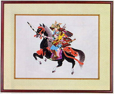 東京文化刺繍キット451「若武者」(4号)