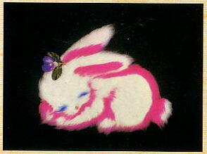 東京文化刺繍キット418「うさぎ」(3号)