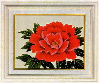 東京文化刺繍キット780「ボタン」(1号額付)