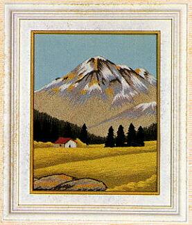 東京文化刺繍キット784「高原」(1号額付)