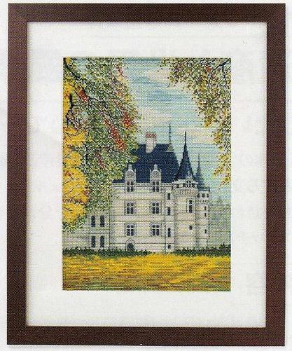 世界遺産と世界の風景からOlympusクロス刺繍キット7209「アゼー・ル・リドー」