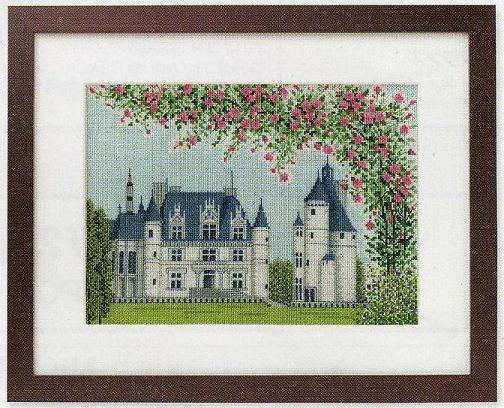 世界遺産と世界の風景からOlympusクロス刺繍キット7213「シュノンソー」