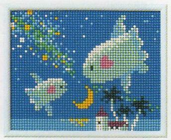 スキルミニギャラリーキットMG61「夜空のマンボウ」