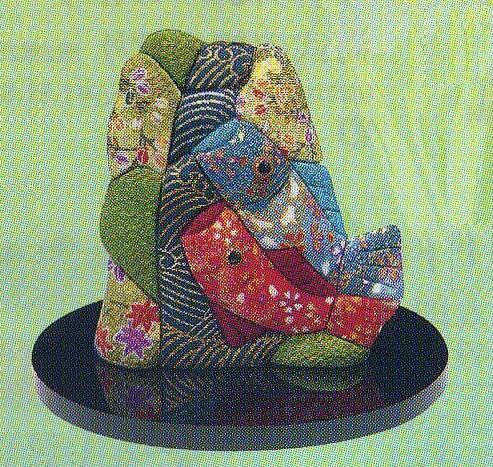 東芸 木目込人形キット「福づくし・勇気鯉」 H742-0