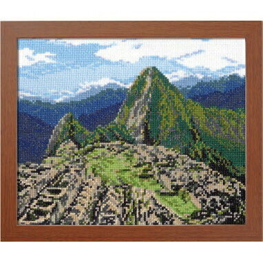 Olympusクロスステッチ刺繍キット7438 「マチュピチュ遺跡」 (ペルー) オリムパス 一度は訪れたい世界の名所