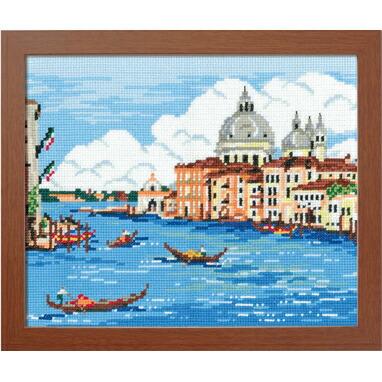 Olympusクロスステッチ刺繍キット7475 「ヴェネチア」 (イタリア) オリムパス ベニス ベネチア ヴェニス