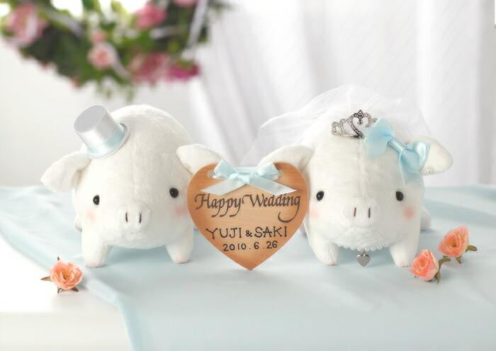Angel's Wedding Series パナミ ラブリーぶーちゃん PG-1 ホワイト ウェディングシリーズ ウェルカムマスコットキット