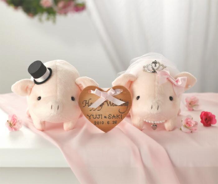 Angel's Wedding Series パナミ ラブリーぶーちゃん PG-2 ピンク ウェディングシリーズ ウェルカムマスコットキット