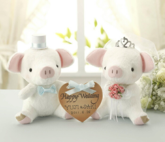 Angel's Wedding Series パナミ おすわりぶーちゃん PG-3 ホワイト ウェディングシリーズ ウェルカムマスコットキット