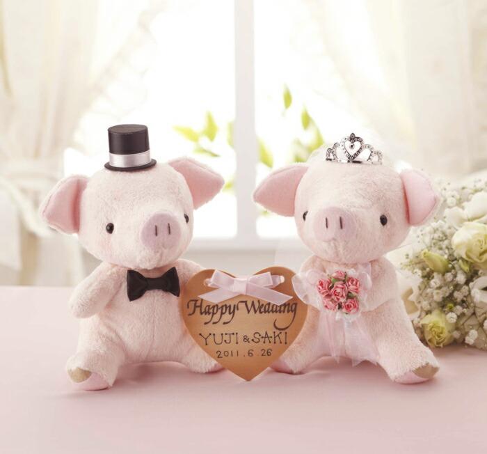 Angel's Wedding Series パナミ おすわりぶーちゃん PG-4 ピンク ウェディングシリーズ ウェルカムマスコットキット