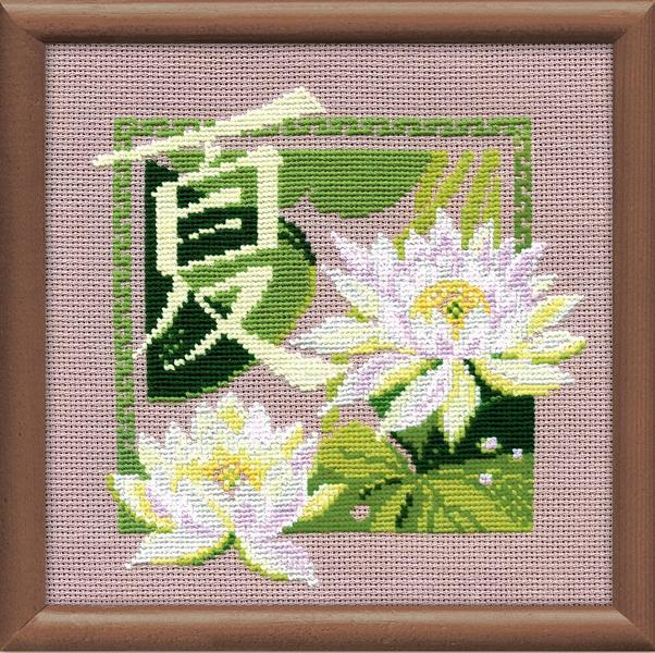 RIOLISクロスステッチ刺繍キット No.811 「Summer」 (夏) ロシアの刺しゅうメーカー「リオリス」製ししゅうキット