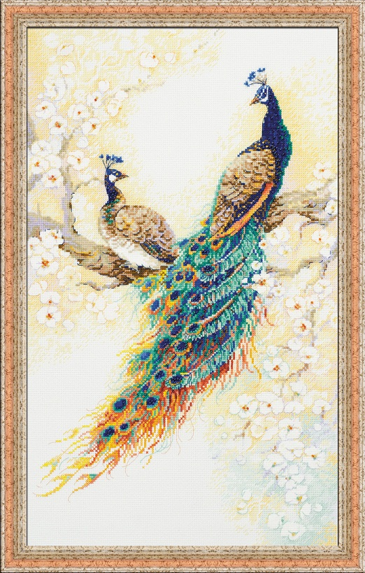 RIOLISクロスステッチ刺繍キット No.100/029 「The Persian Garden」 (ペルシアの庭園) ロシアの刺しゅうメーカー「リオリス」製ししゅうキット