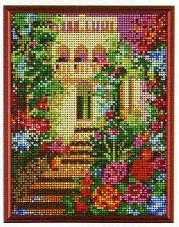 スキルギャラリーキットG674「花庭」