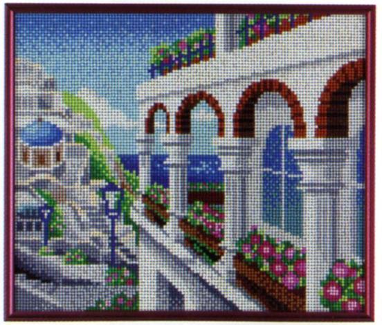 スキルギャラリーキットG747 「白い家」