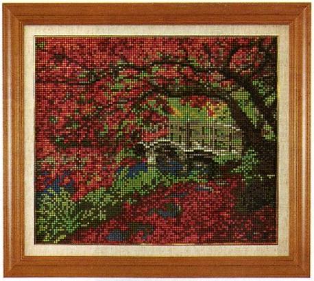 スキルギャラリーキットG748「紅葉の風景」