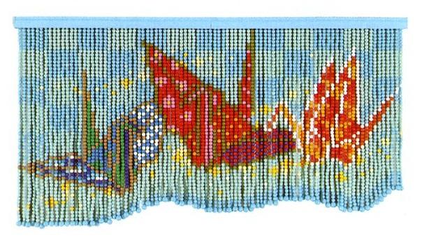 スキルスクリーンキットS34「折り鶴」