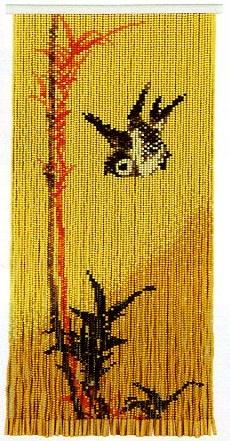 スキルタペストリーキットT377 「竹に雀」