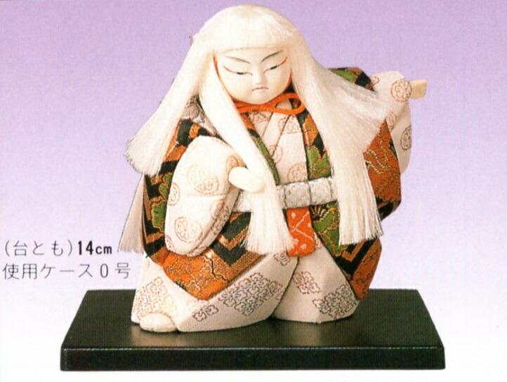 東芸 木目込人形キット「歌舞伎・連獅子(白)」 H035-0