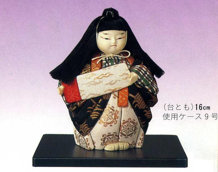 東芸 木目込人形キット「歌舞伎・勧進帳」 H036-0