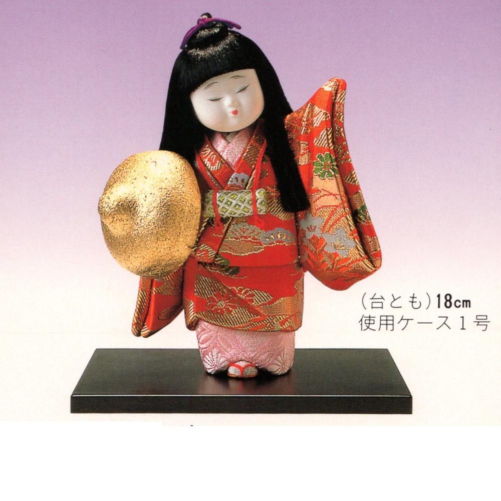 東芸 木目込人形キット「童女・旅姿」 H108-01