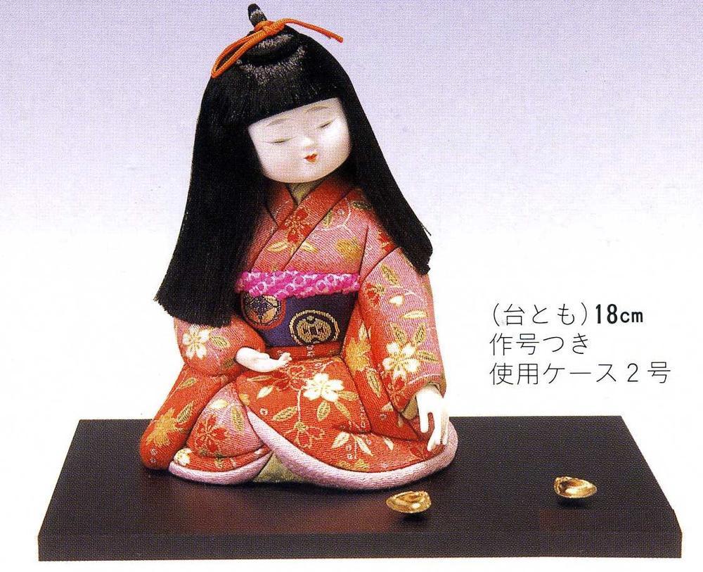 東芸 木目込人形キット「童女・貝合わせ」 H118-02