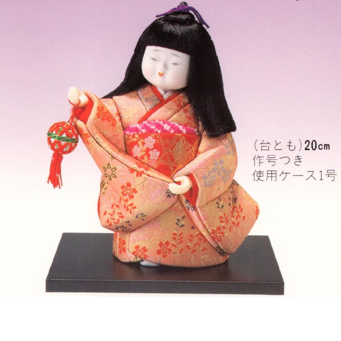 東芸 木目込人形キット「童女・わらべうた」 H130-01