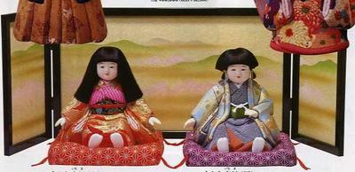 東芸 木目込人形キット「すわり市松」
