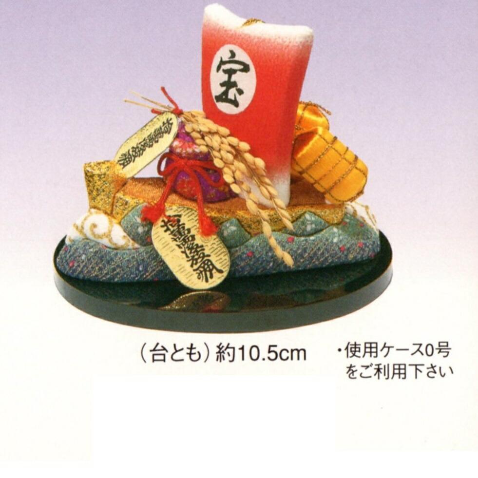 東芸 木目込人形キット「福づくし・宝船」 H735-0