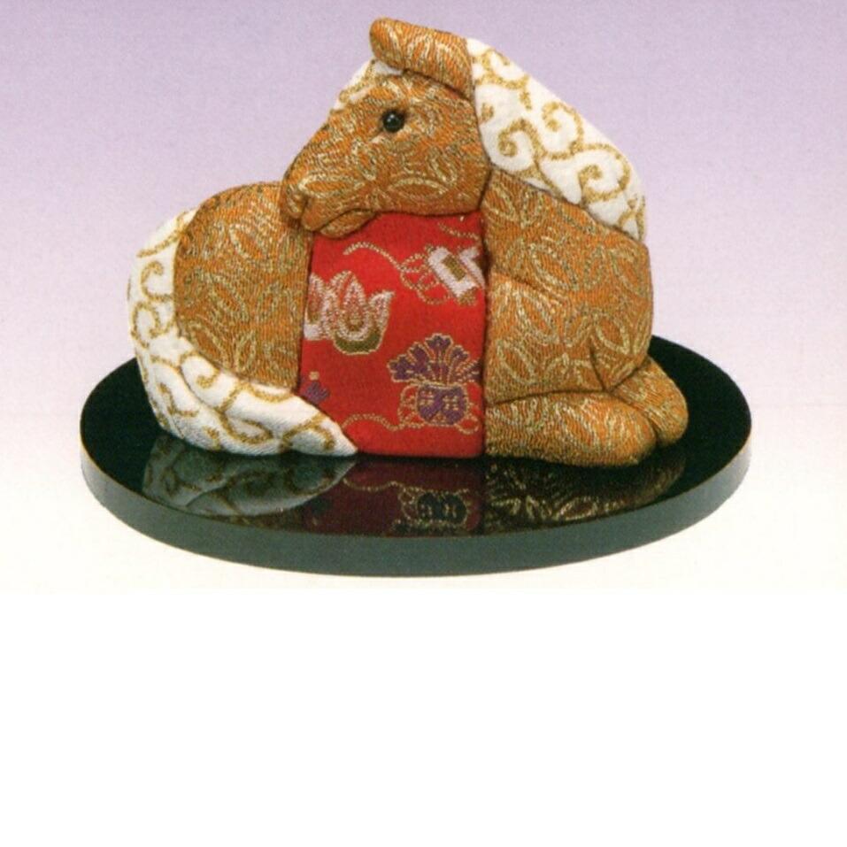 東芸 木目込人形キット「福づくし・左馬」 H736-0