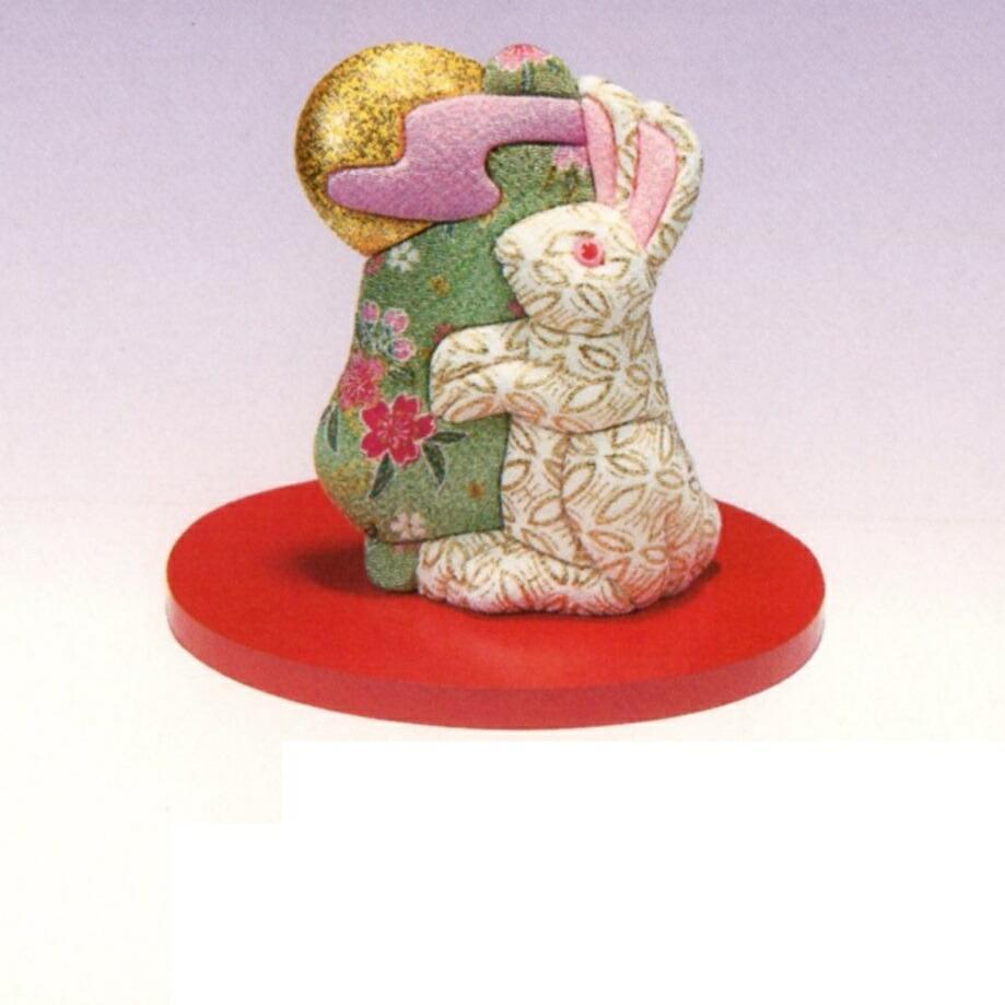 東芸 木目込人形キット「福づくし・つきよびウサギ」 H737-0
