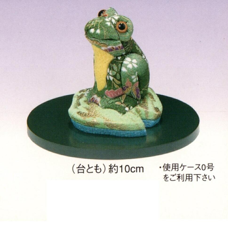 東芸 木目込人形キット「福づくし・幸せカエル」 H739-0