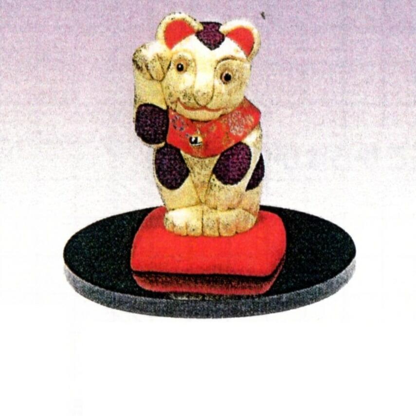 東芸 木目込人形キット「福づくし・開運招き猫」 H740-0
