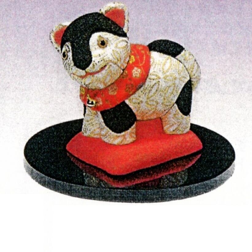 東芸 木目込人形キット「福づくし・犬張子」 H741-0