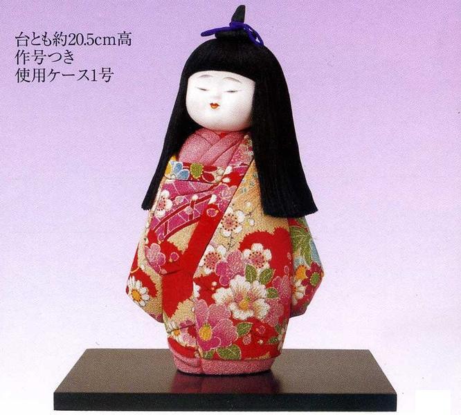 東芸 木目込人形キット「童女・花しるべ」 H761-01