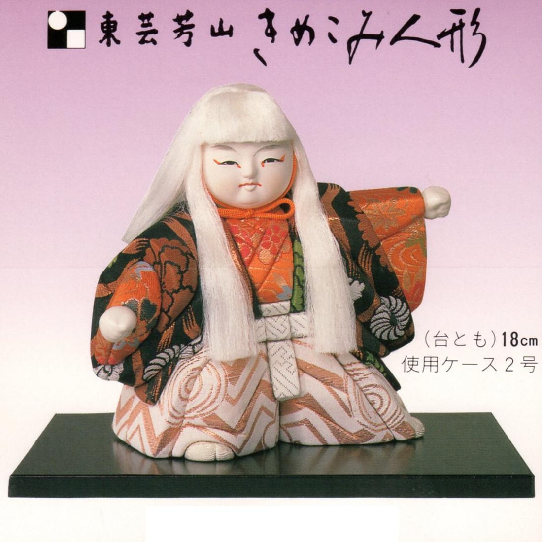 東芸 木目込人形キット「2号・石橋」(しゃっきょう) K024-02