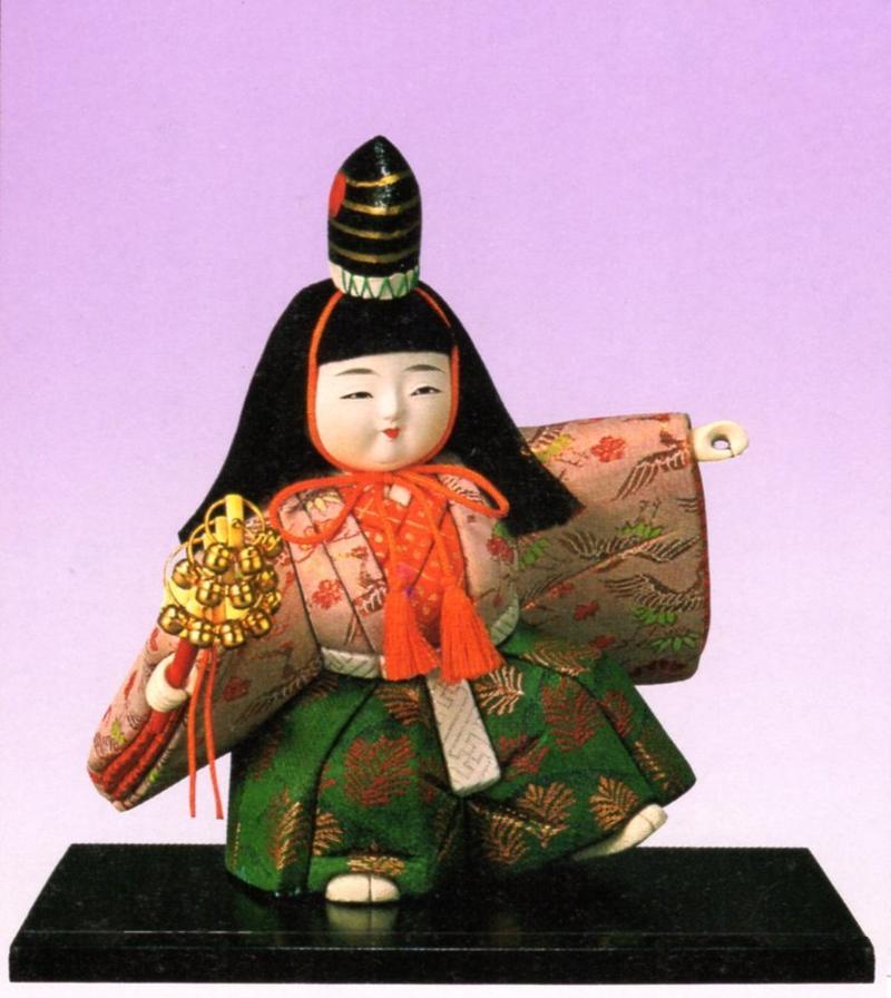 東芸 木目込人形キット「2号・三番叟」(さんばそう) K027-02