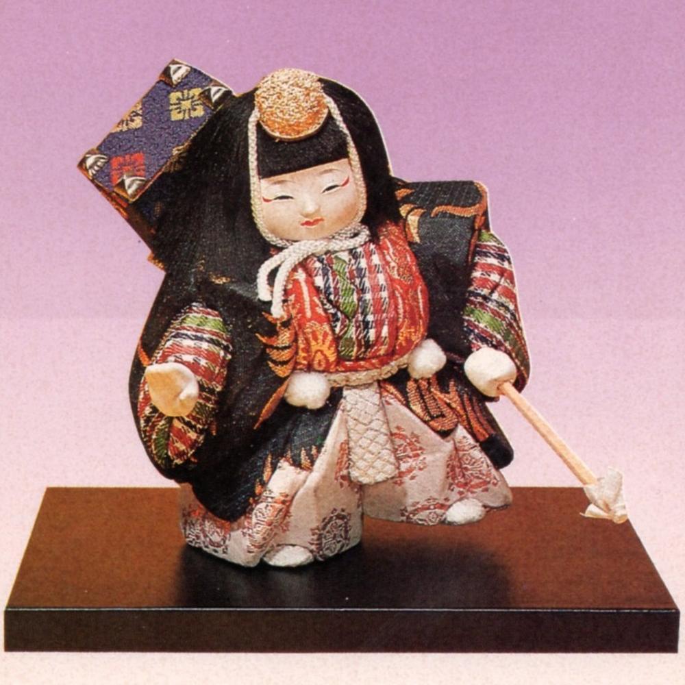 東芸 木目込人形キット「2号・六法」(ろっぽう) K029-02