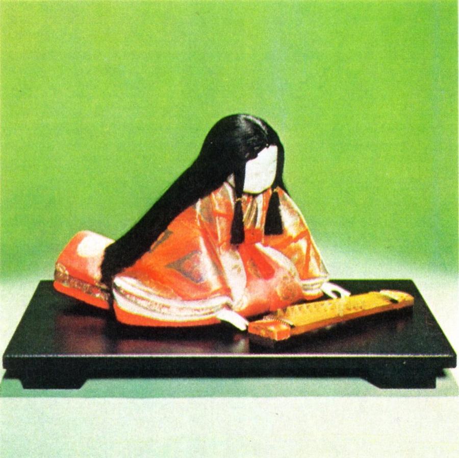 東芸 木目込人形キット「平安童女・琴」 K112-04