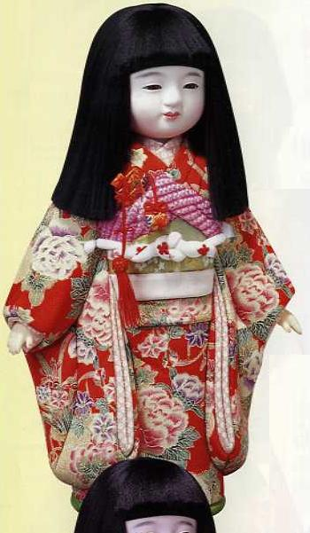 東芸 木目込人形キット「四季の市松人形(春)」 K400-15