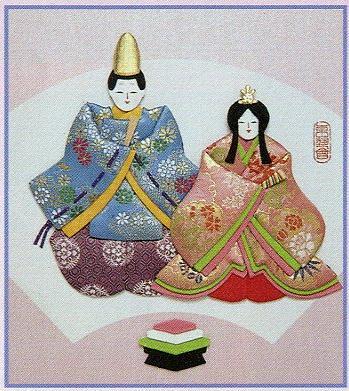 東芸押し絵キット H8805「弥生びな」