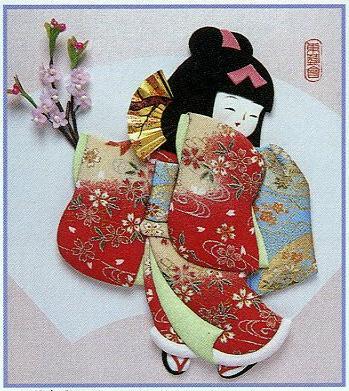 東芸押し絵キット H8806「お花見」