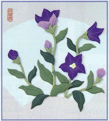 東芸押し絵キット H8808「ききょう」