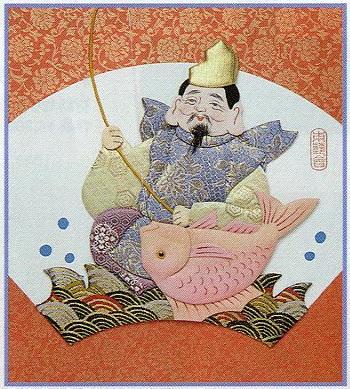 東芸押し絵キット H8847「寿七福神・恵比寿」