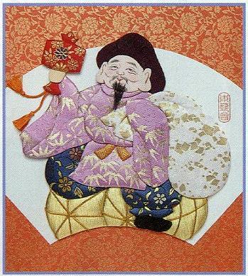 東芸押し絵キット H8848「寿七福神・大黒天」